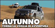 ITINERARI di AVVENTURE D'AUTUNNO in 4x4