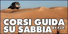 VIAGGI 4X4 - CORSI GUIDA SU SABBIA by FIF